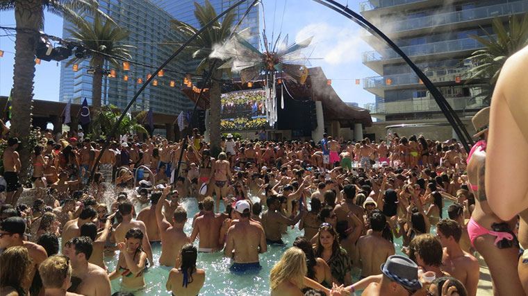 Dome party Marquee Dayclub The Cosmopolitan