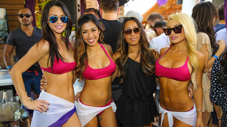 vacation summer Vegas Marquee dayclub