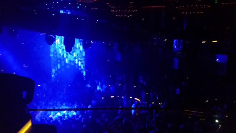 Caesars Hotel Omnia nightclub Las Vegas