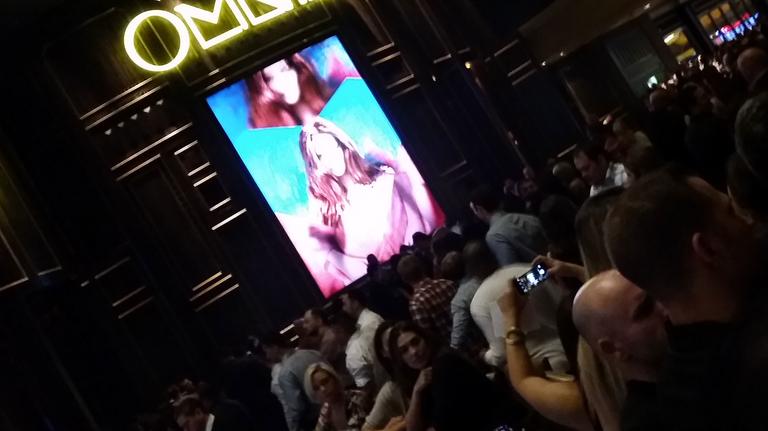 nightlife Omnia Caesars Palace Vegas
