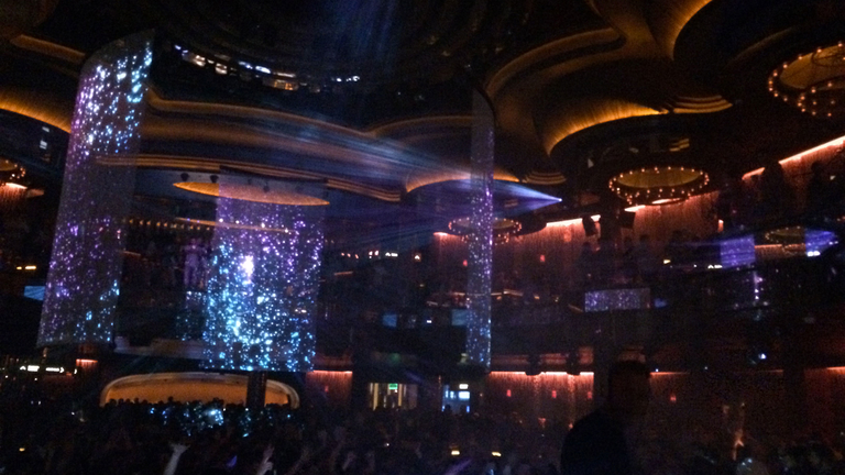 VIP service Omnia nightclub Las Vegas