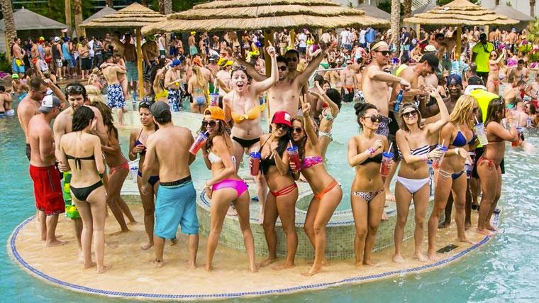 Rehab Pool Party Hard Rock