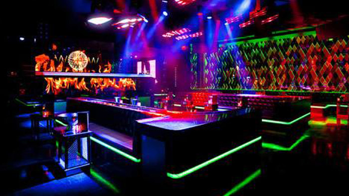 Wall Lounge Nightclub Galavantier