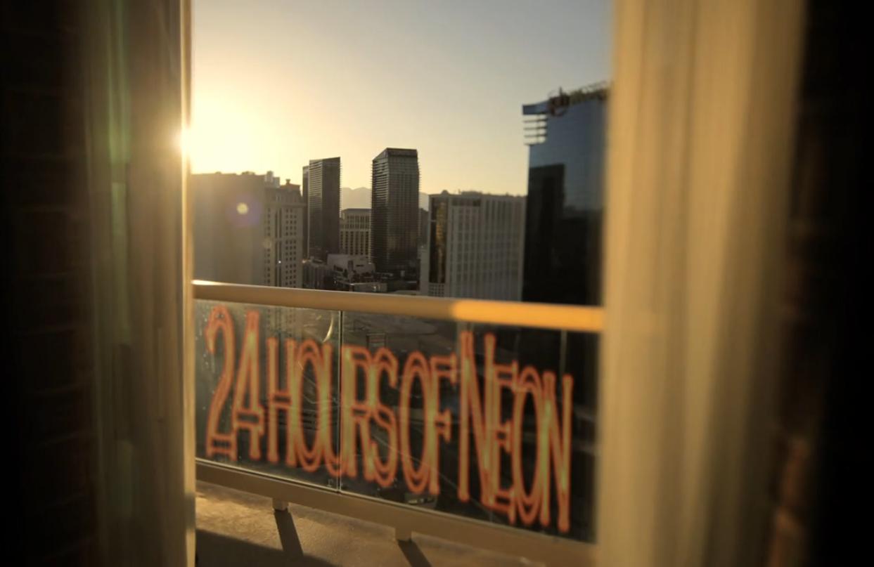 Travel through a lens 24 hours of neon galavantier for 24 hour salon new york