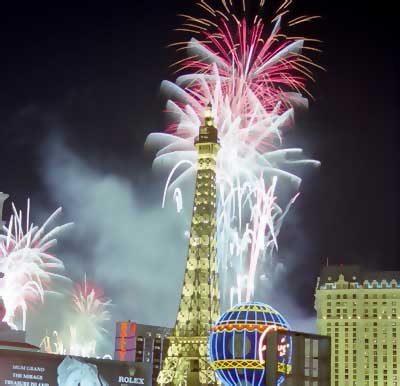 travel through a lens new years eve las vegas fireworks